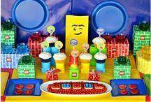 LEGO party / LEGO birthdayparty for  boys!colorful!