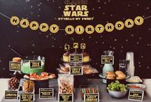 STAR WARS party / STAR WARS birthday PARTY