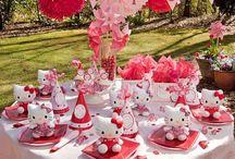 Hello Kitty party / SANRIO HelloKitty birthdayparty
