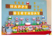 Super MARIO Party / Nintendo Super MARIO birthdayparty!