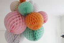 honeycomb ball / birthdayparty decoration