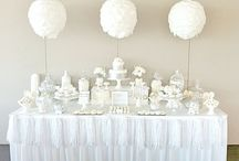 white x silver party / 上品なホワイトとシルバーのパーティー