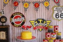 CARS party / CARS birthdayparty for boys and daddy
