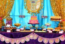 Aladdin party / Aladdin and Jasmin birthday party
