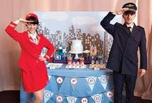 Planes pilot party / airplane birthday party