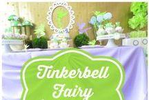 Tinkerbell fairy party / かわいい妖精ティンカーベルのお誕生日パーティー