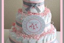 dipercake #cute / babyshower party dipercake