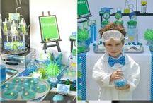 Science party / 化学 科学 サイエンスなお誕生日パーティー