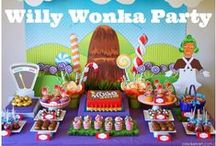 Wonka chocolate party / Charlie and the chocolate factory birthday party