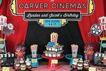 cinema party / 映画がテーマのお誕生日パーティー
