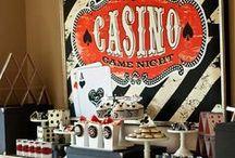casino party / casino trump game birthday party