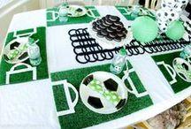 Soccer party digest / ワールドサッカーテーマのお誕生日パーティー