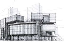 Architectural – Hand Rendering