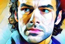 Poldark photo edits Aidan Turner / My edits from Poldark #EleanorTomlinson #Demelza #Ross