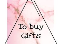 To buy, gift inspiration