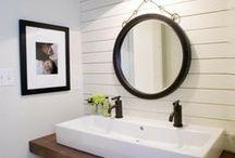 bathrooms / by Beth Barden || designPOST interiors