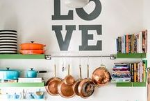 DESIGN || a space to cook / kitchens + such