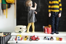 DESIGN || a play space / rooms to romp + play  / by Sarah Copeland