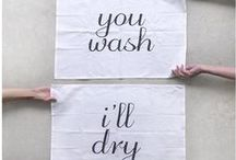 DESIGN || tea towels
