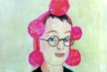 Maira Kalman: Her Art & Words / Maira Kalman is an illustrator, author and designer. She brings joy to many people through her whimsical drawings and witty observations about life. You may recognize her New Yorker cover designs, her dust jacket artwork and her own books. / by AbeBooks