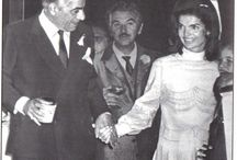 Kennedy's. Jackie Kennedy Onassis and Aristotle / The Kennedy's  / by Susan Tate