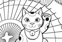 Colering and Drawings Zentagles