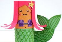 For Mom: Fun Kids Crafts, Games & Activities / Entertaining year-round playtime ideas for kids