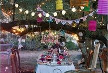 Garden party / Whimsical, bohemian, dreamy, vintage garden party