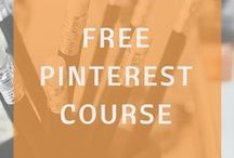 Pinterest Marketing / Pinterest marketing is for online businesses, bloggers, and creatives who are looking for strategies for social media marketing, Pinterest strategies for small businesses, Pinterest tips and tutorials for bloggers and products. Learn to market your online blog or website with these great resources.