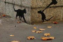 Wall and streetart