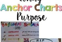 Anchor Charts / anchor charts, parts of speech, flexible seating, classroom management, classroom procedures, math facts, math procedures, visual learners, visual reminders, posters, classroom decor