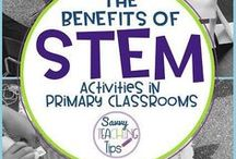 STEM/STEAM: Elementary Grades / Science, Technology, Engineering, Art, and Math activities and projects for grades 3rd, 4th, and 5th. stem activities, steam activities, maker space, projects bridges, craft supplies, technology in the classroom, cross curricular, project based learning