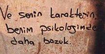 Şiir Sokakta / Duvar yazıları, şiirler, sözler.
