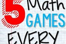 Learning Games / Games for math, reading, writing, and more. Students retain concepts better when they learn them through social interaction.