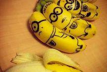 Amarelas  &  Cia / O amarelo das laranjas e das bananas me trazem boas recordações de passados tão distantes q me fazem rir sòzinha de contentamento! / by Gloria Ben