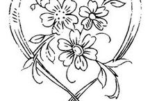 Digi Stamps & Line Drawings / by Roxy Wagner