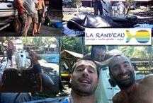Plongee Guadeloupe Bouillante / La Rand'eau, qui s'inscrit dans une logique écotouristique, vous propose de partir en groupe restreint à la découverte de cette côte intime et méconnue. En plongée sous marine, en randonnée palmée, en kayak ou à la découverte de ses rivières en canyoning, faites confiance à nos moniteurs diplômés d'État... http://www.larandeau.com/plongee-guadeloupe.html
