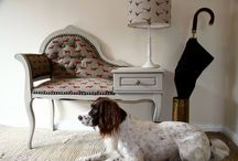 STOCKISTS: Emily Bond / The original Emily Bond, made in England. A gorgeous collection of animal and country style prints on linen and cotton. All available from Rascal & Roses