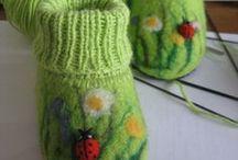 Needle Crafts / Needle felting, toys, knit crochet and inspiration.