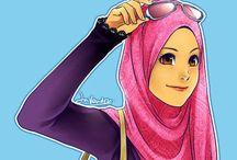 Jilbab / Jilbab, wanita muslimah, dunia jilbab. #hijrah