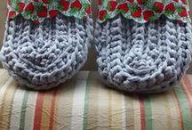 Rogéria Felippe, seus trabalhos e interesses / Trabalhos em crochê e tricô