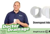 How-To Drainage Videos / We want to help you with all your drainage and irrigation projects, which is why this board contains video of how to properly install NDS products so you are guaranteed to solve your drainage and irrigation issues the first time.