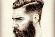 Men's hairstyles & beards