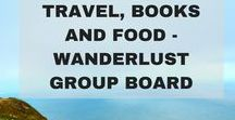 Travel, Books and Food - Wanderlust Board / Travel, Books and Food - Wanderlust Group Board. Please pin only Travel-related and food experiences posts (Travel guides, Travel Itineraries, Travel Hacks, Travel Tips, Romantic Travel, Budget Travel, Luxury Travel, Food travel, Foodie heaven). Only vertical pins and max 5 pins in a day. Anyone not following the rules will be banned from the board. Send me a mail at soumyanambiarnr(at)yahoo.com for an invite