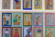 Tadeusz Makowski-Polish painter / Γνωρίζοντας τον Tadeusz  Makowski Εικαστικές δημιουργίες των μαθητών του 7ου ΔΣ Νίκαιας www.7dimotikonikaias.blogspot.gr