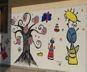 Joan Miro / Γνωρίζοντας τον Joan Miro Εικαστικές δημιουργίες των μαθητών του 7ου ΔΣ Νίκαιας www.7dimotikonikaias.blogspot.gr