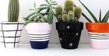 DIY Pot plantes