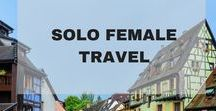 SOLO FEMALE TRAVEL / SOLO FEMALE TRAVEL, Solo Female Travel Destinations, Travel Tips and Travel Hacks on traveling solo as a female, Solo Female Travel Guides, Best Places in the world to travel solo