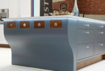 Islands etc. / Stunning, bold and highly functional kitchen islands to turn your kitchen into a design statement.