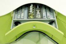 Storage etc. / Be creative, be efficient, choose from these ingenious kitchen storage designs.